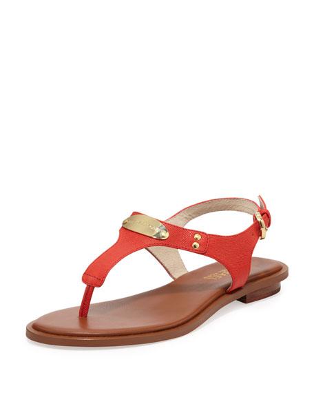 Plate Thong Sandal