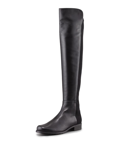 Stuart Weitzman 50/50 Narrow Napa Stretch Over-the-Knee Boot,