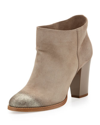 Sale alerts for Jimmy Choo Marley Degrade-Glitter Suede Ankle Boot - Covvet