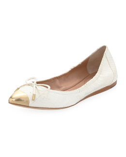 VC Signature Chelsie Metal Pointed Toe Flat