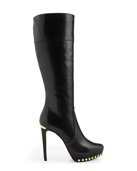 Ailee Studded Tall Boot