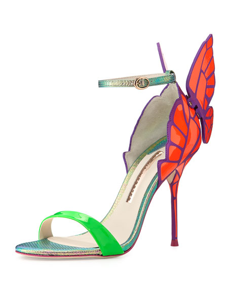 Sophia Webster Chiara Butterfly-Back Sandal