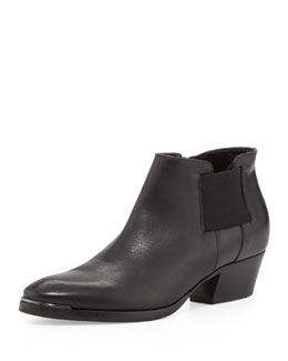 Aquatalia Fetch Leather Ankle Boot