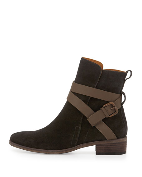 Janis Suede Ankle Boot