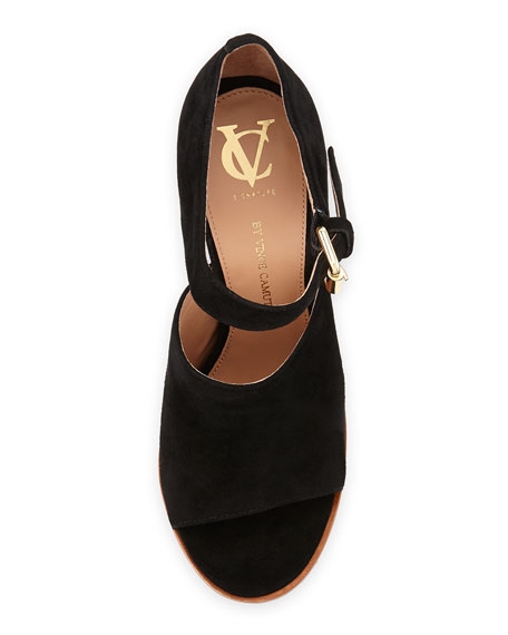 VC Signature Phylida Chunky Ankle-Strap Sandal