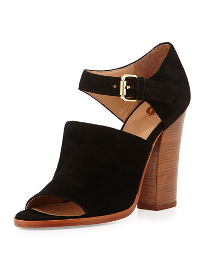 Phylida Chunky Ankle-Strap Sandal