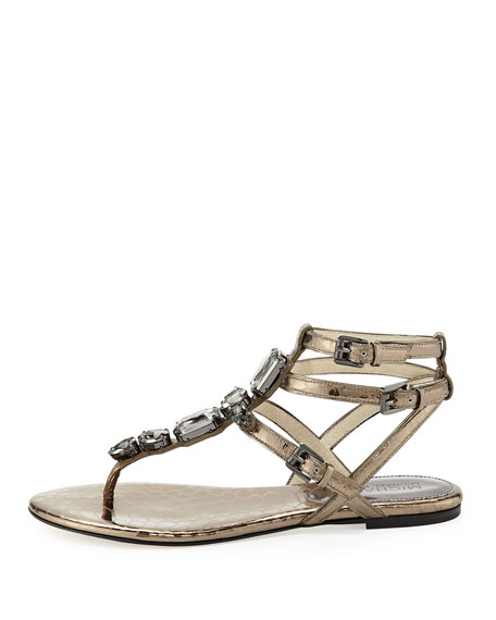 Jayden Jeweled Sandal
