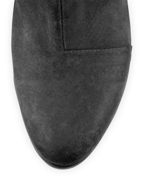 Newbury Nubuck Ankle Boot, Black