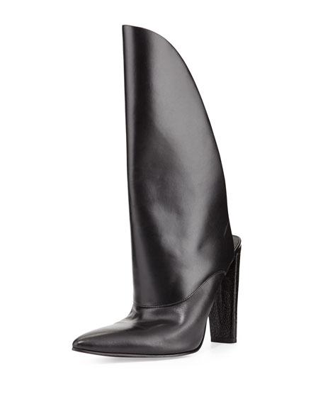 Alexander Wang Runway Leather Bootie Mule