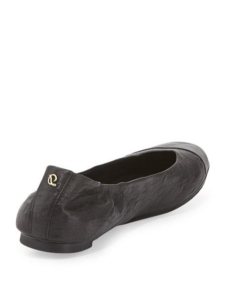 Maya Cap-Toe Ballerina Flat