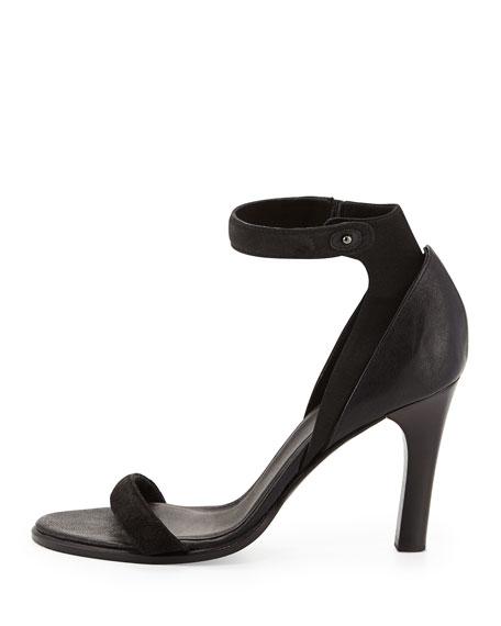 Albion Ankle-Strap Sandal, Asphalt