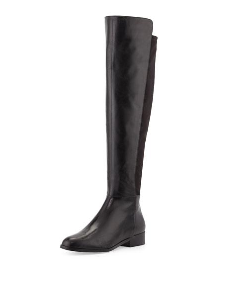 michael michael kors bromley stretch flat boot