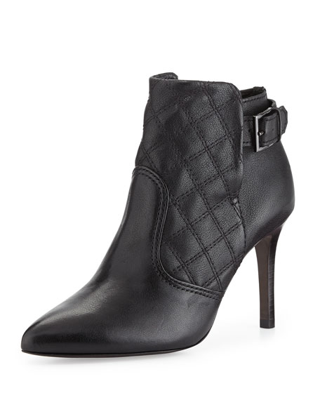 Orchard 85 MM Quilted Bootie, Black