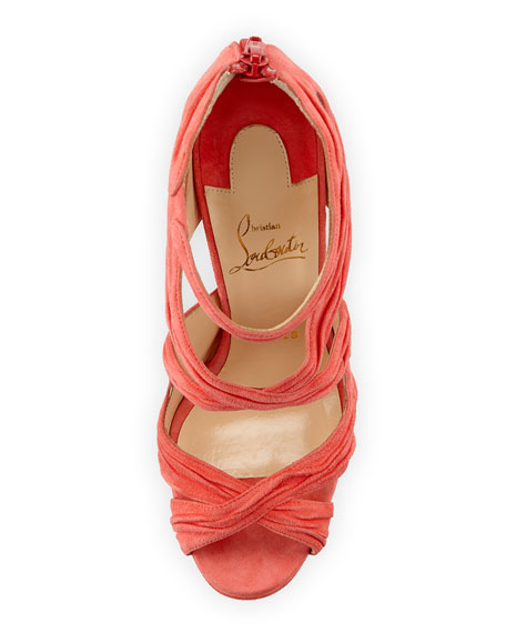 Kasia Suede Red Sole Sandal