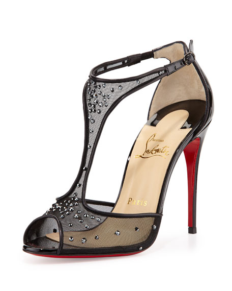 Christian Louboutin Patinana Strass Red Sole Sandal