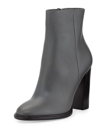 Overton Leather Bootie, Graphite