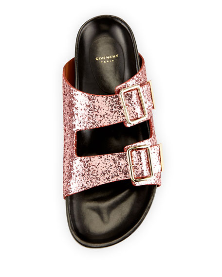 Givenchy Swiss Glitter Double-Buckle
