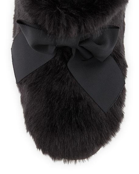 fabian furry slipper bootie