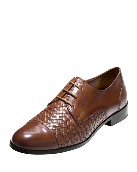 Cole Haan Jagger Woven Oxford, Sequoia