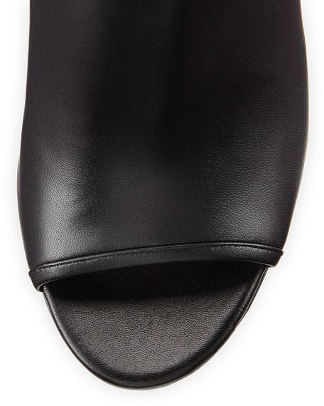 Fortis Open-Toe Cutout-Heel Bootie