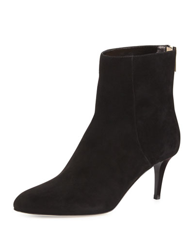 Brody Suede Ankle Boot, Black