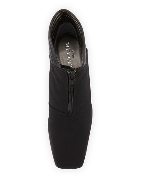 Sarine Microfiber Ankle Boot, Black