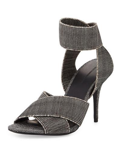 Dana Heathered Elastic Sandal