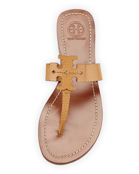Moore Leather Thong Sandal, Royal Tan