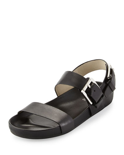Sawyer Double-Band Sandal, Black