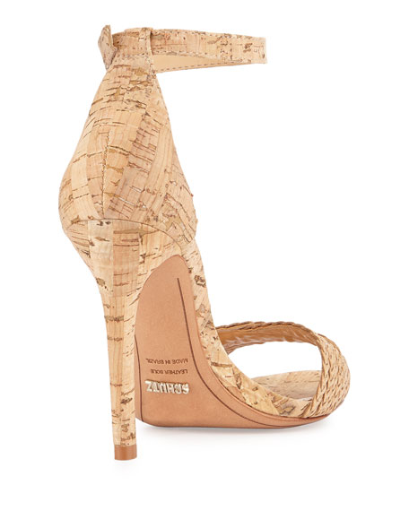 Lightwood Drauzia Cork Sandal, Taupe