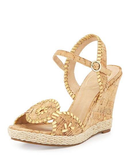 e183bb4dd3f2 Jack Rogers Clare Rope Wedge Sandal