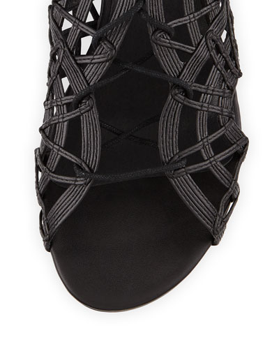 Joie Renee Lace Up Gladiator Sandal Black