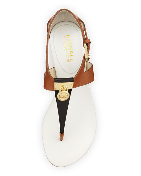 7c14c8e4a068 MICHAEL Michael Kors Hamilton Colorblock Thong Sandal
