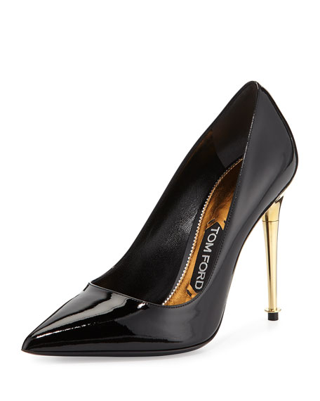 TOM FORD Patent Leather Pin Heel Pump