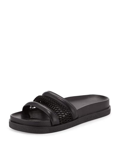 Jac Mesh Sport Sandal, Black