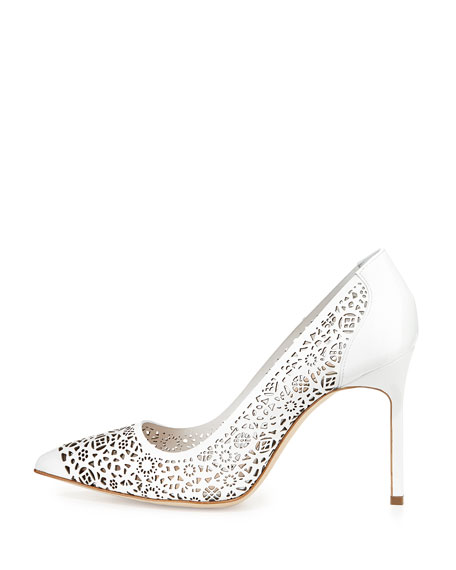 sale real Manolo Blahnik Laser Cut BB Pumps huge surprise cheap price cost cheap price eastbay cheap price low shipping cheap price gJGoyUGe2