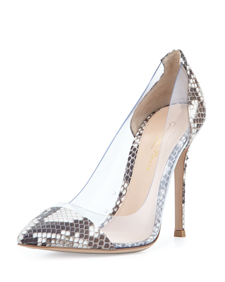 Gianvito Rossi Python Heels Clearance Classic 7bUvgsNl