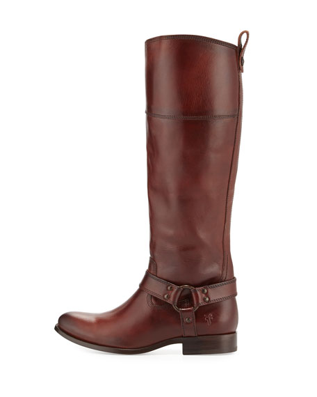 Melissa Harness Riding Boot, Brown