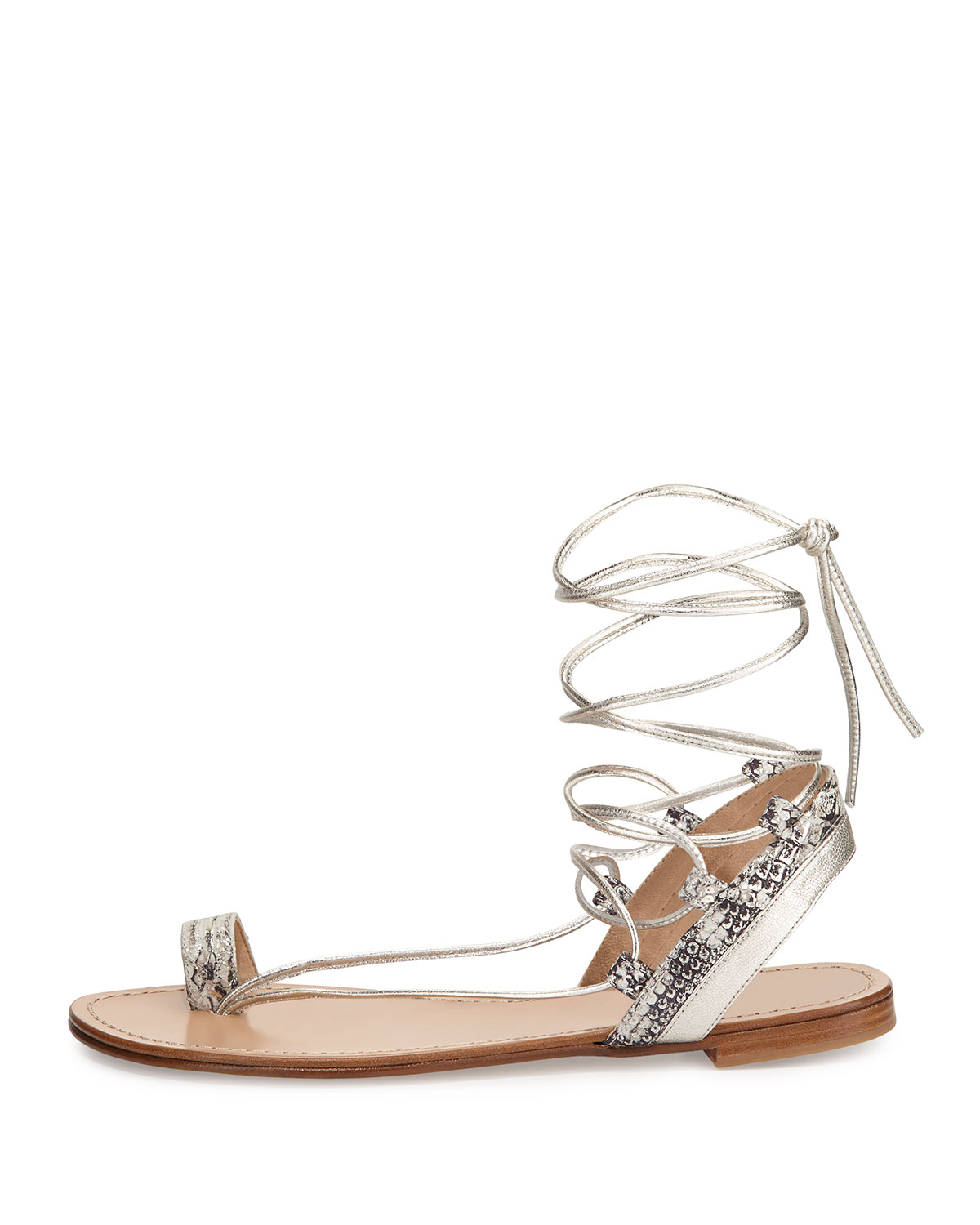 outlet classic buy cheap many kinds of Stuart Weitzman Lasso Lace-Up Sandals 4esoEQlGb2