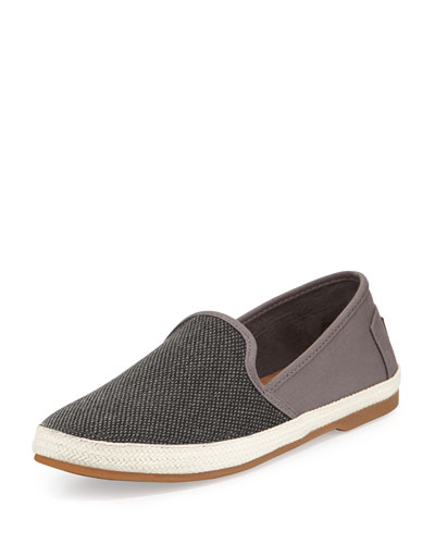 Sabados Canvas Slip-On Sneaker, Black