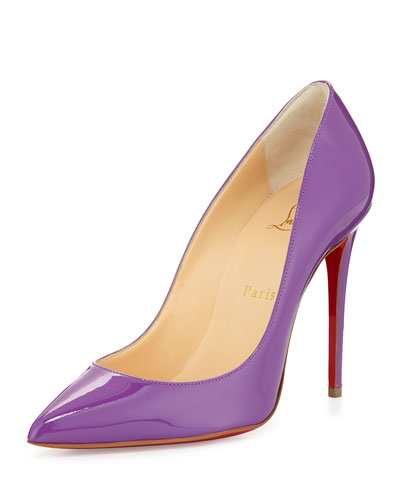 Pigalle Follies Red Sole Pump, Digitale Purple