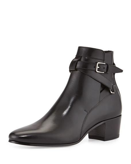 Blake Jodhpur Ankle Boots, Black