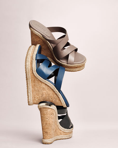 Prisma Vachetta Wedge Sandal