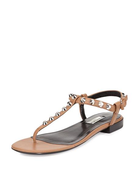 Balenciaga Leather Thong Sandals online cheap online cheap Manchester cheap original cheap sale choice outlet prices xQOEwCAFa
