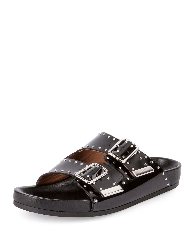 d051d425069c Givenchy Studded Leather Sandal Slide