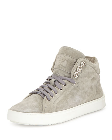 Free Shipping Low Shipping Fee Huge Surprise RAG&BONE Kent High-Top Suede Sneakers The Best Store To Get Sale Visit LRmCy