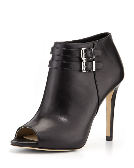 Saylor Vachetta Leather Bootie, Black