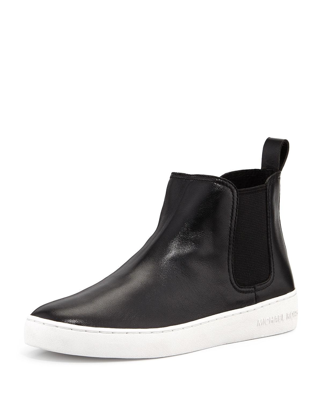 26eb40d22b709 MICHAEL Michael Kors Keaton Leather Sneaker Bootie