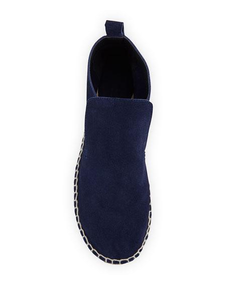 Ronan Slip-On Leather Espadrille