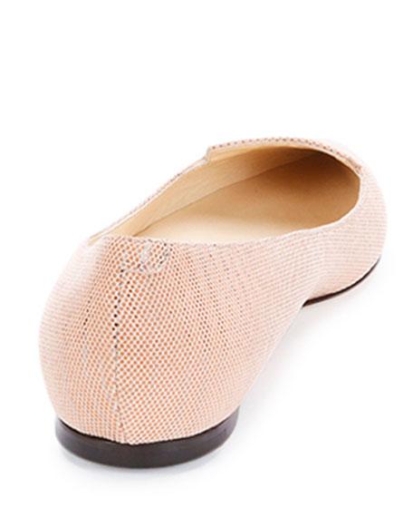Attila Pixelated Leather Flat, Pink